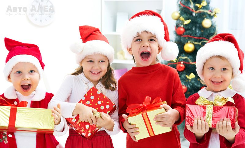 Подарки на новый год детям в детский сад 2017